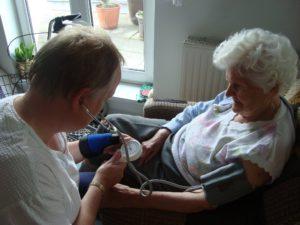 Pflegedienst im Einsatz